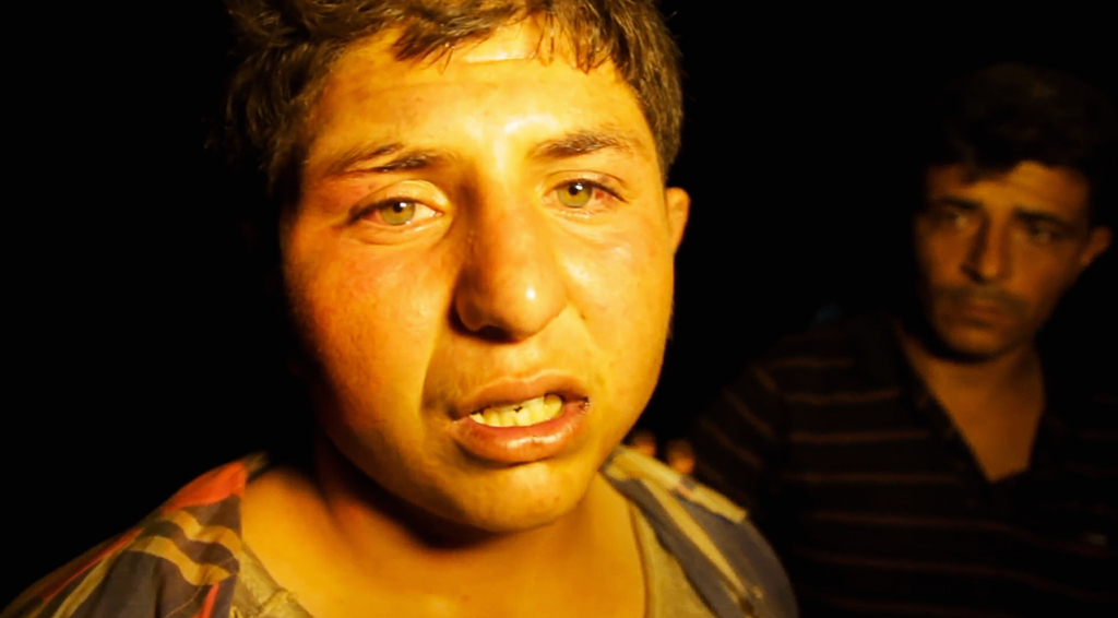 abused syrian refugee